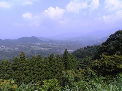国見ヶ丘から見る西の景色